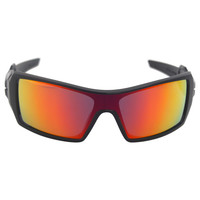 Oakley Sunglasses in Polished Black/Ruby Iridium