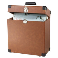 Tan Vinyl Trunk Case