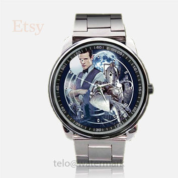 Doctor Who Plague of The Cybermen Justin Richards Sport Watches