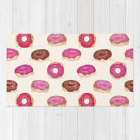 Homemade Doughnuts Rug by Perrin Le Feuvre