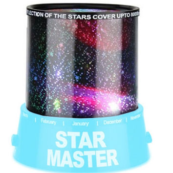 New Hot Magic 4 LED Sky Star Starry Sky Projector Night Light 3D Lamp Nursery Home Display Bedroom kids lamp Projectors