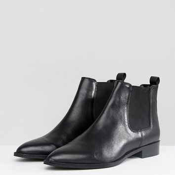 ASOS AUTOMATIC Leather Chelsea Boots at asos.com