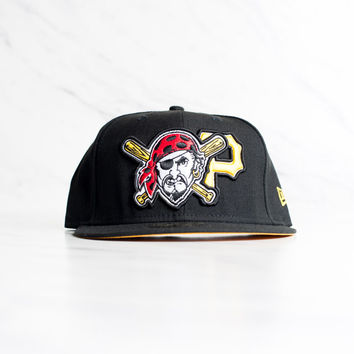 New Era Pittsburgh Pirates 59 Fifty - 'Black'