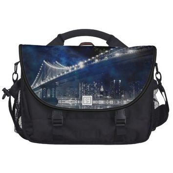 New!! New York City Laptop Commuter Bag