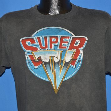 80s Super TV Subscription Service t-shirt Large