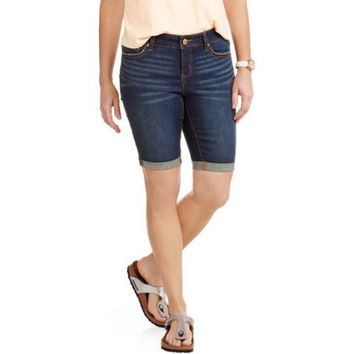 "Faded Glory Women's 13"" Bermuda Shorts - Walmart.com"
