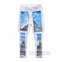 Indie Designs Custom Made HBA Paramount Photo Print Shorts