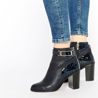 ASOS EXIT 70s Ankle Boots