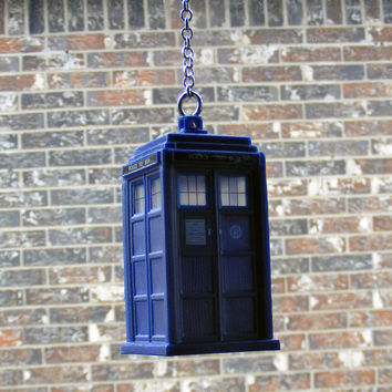 Doctor Who TARDIS Car Decor Rearview Mirror Dangle - Cute and Detailed