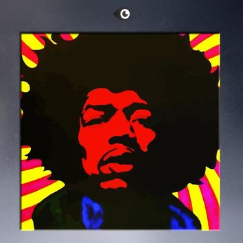 free shipment Jimi Hendrix music  Poster  wall Art Picture Paint on Canvas Prints P6