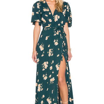 Privacy Please Plaza Kimono Dress in Sequoia