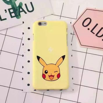 Pokemon Go Cute Pikachu Protective Case For Iphone 6 6s plus