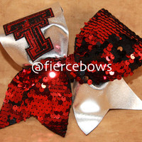 Texas Tech Cheer Bows