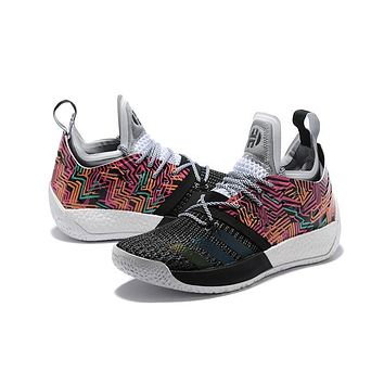 Adidas Harden Vol. 2 Black Colorful | Best Deal Online
