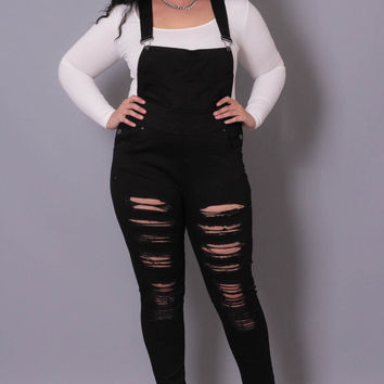 d6e648158dc4d Plus Size Destroyed Overall from Curvy Sense