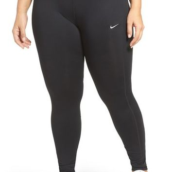 Nike Power Essential Dri-FIT Running Tights (Plus Size) | Nordstrom