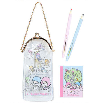 Buy Sanrio Little Twin Stars Stationery Set in Vinyl Clasp Pouch at ARTBOX