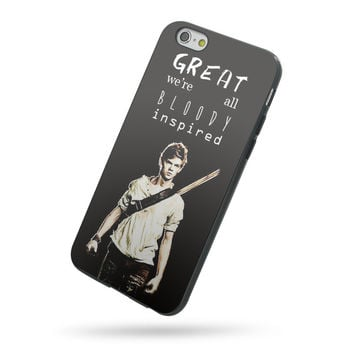 The Maze Runner Newt Quotes for iPhone 5c