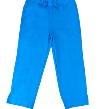 Organic Cotton Blue Boys Yoga Pants