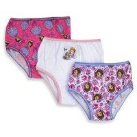 Disney® Sofia the First 3-Pack Toddler Panties