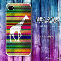 Giraffe with woderful zatec Pattern : Handmade Case for Iphone 4/4s , Iphone 5 Case Iphone
