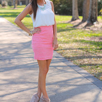 Two Timing Cutie Dress, Pink