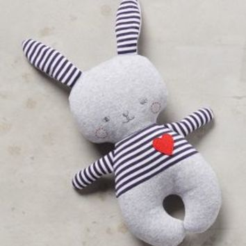 Soft Bunny Rattle by Anthropologie