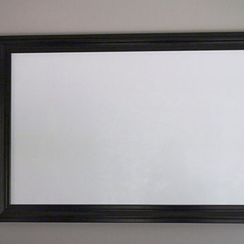 24x36 White Framed Magnetic Dry Erase Board