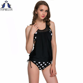 Tankini  Female Bikini set swimwear Swimsuit bathing suit women tankini swimsuits women plavky  Biquini swimming suit Monokinis