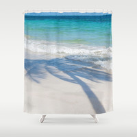 SEA TREE Shower Curtain by Catspaws | Society6