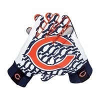 Nike Chicago Bears Stadium Gloves - Navy Blue