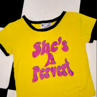 SWEET LORD O'MIGHTY! SHES A PERVERT RINGER TEE