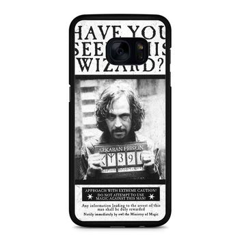 Sirius Black Wanted Poster Samsung Galaxy S7 Edge Case