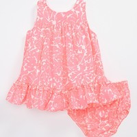 Lilly Pulitzer® 'Caldwell' Dress & Bloomers (Baby Girls) | Nordstrom