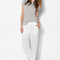 Love Sadie Embroidered Gauze Pant - Urban Outfitters