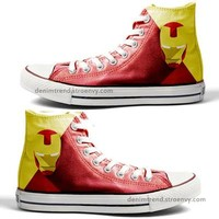 Ironman Custom Converse - Marvel - Free Shipping Hand Painted Shoes from denimtrend ®