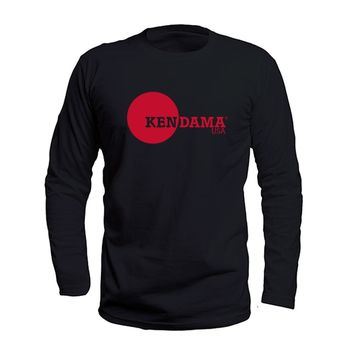 Kendama USA - Logo Tee - Long Sleeve - Black