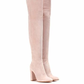 Exclusive to mytheresa.com – suede over-the-knee boots