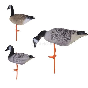 Premium XPE Full Body Lifelike Goose Hunting Decoy  / Lawn Ornaments, Garden Decors