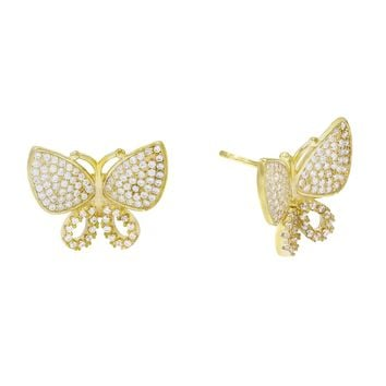 Omega Butterfly Studs