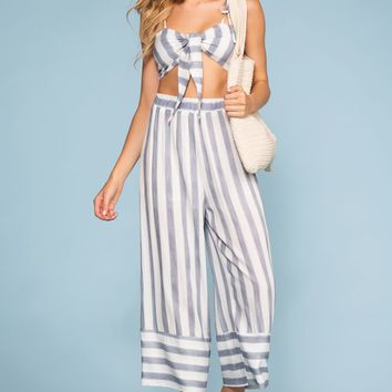 Havanna High Waist Stripe Pants