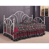 Coaster Company White Metal Twin-size Daybed | Overstock.com Shopping - The Best Deals on Kids' Beds