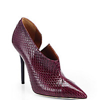 Malone Souliers - Snakeskin Booties - Saks Fifth Avenue Mobile