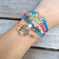 Nautical Inspirational Bracelet