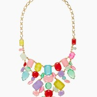 gumdrop gems bib necklace - kate spade new york