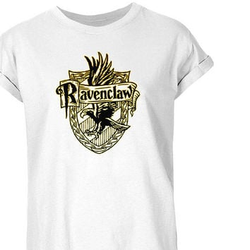 Ravenclaw Crest Logo Shirt Tumblr Hipster T-shirt Unisex  S- 3XL Size