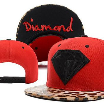 Diamond Snapbacks Cap Snapback Hat - Ready Stock