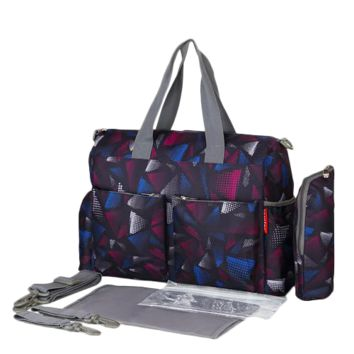 Baby Diaper Bags - Print Pattern - Handbag Waterproof Baby Stroller Bag
