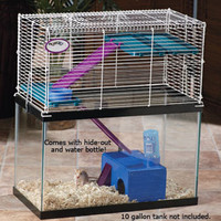 Small Pet Cages: Super Pet My First Home Tank Topper at Drs. Foster & Smith