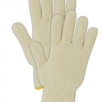 HandMaster® 93T3 Seamless Knit Cotton Blend Utility Men's Glove, Large, 3-Pack